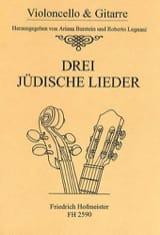 3 Judische Lieder Partition Duos - laflutedepan.com