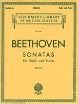 Sonatas for violin and piano BEETHOVEN Partition laflutedepan.com