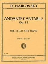 Andante Cantabile op. 11 TCHAIKOVSKY Partition laflutedepan.com