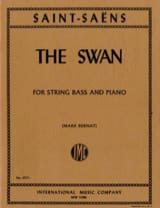 The Swan - String bass SAINT-SAËNS Partition laflutedepan