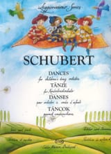 Franz Schubert - Dances For Children's String Orchestra - Partition - di-arezzo.fr