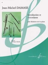 Jean-Michel Damase - Introduction and Contredanse - Sheet Music - di-arezzo.co.uk