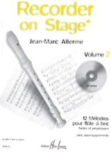 Recorder on Stage - Volume 2 Jean-Marc Allerme laflutedepan.com