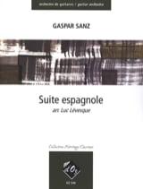 Suite espagnole - orchestre de guitares Gaspar Sanz laflutedepan.com