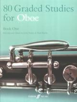 Davies John / Harris Paul - 80 Graded studies for oboe - Book 1 - Sheet Music - di-arezzo.co.uk