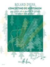 Roland Dyens - Concertino de Nürtingen -parties + cond. - Partition - di-arezzo.fr