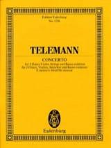 TELEMANN - Konzert e-moll - Partition - di-arezzo.fr