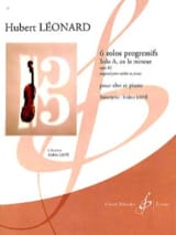 Hubert Léonard - Solo A in A minor op. 62 - Sheet Music - di-arezzo.com