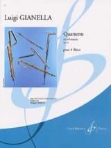 Quartetto en sol majeur op. 52 Luigi Gianella laflutedepan.com