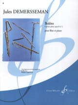 Jules Demersseman - Bolero op. 2 n ° 2 - Sheet Music - di-arezzo.co.uk
