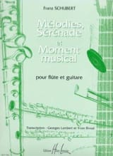 SCHUBERT - Melodies, Serenades and Musical Moment - Sheet Music - di-arezzo.com