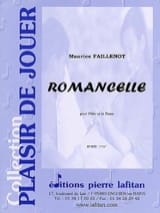 Maurice Faillenot - Romancelle - Sheet Music - di-arezzo.co.uk