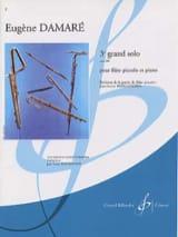 Eugène Damaré - 3ème Grand solo op. 410 - Partition - di-arezzo.fr