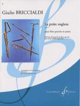 La petite anglaise op. 74 Giulio Briccialdi Partition laflutedepan.com