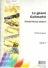 Le Géant Galimafré Claude-Henry Joubert Partition laflutedepan.com