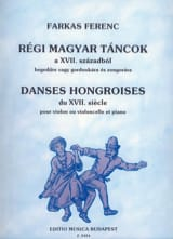 Danses Hongroises du 17ème siècle -Violon Cello laflutedepan.com