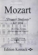 Prager Sinfonie KV 504 Stimmen -Flöte Violine Violoncello Klavier laflutedepan.com