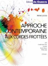 Approche contemporaine aux cordes frottées –Cycle 1 Volume 1 - laflutedepan.com