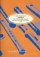 Ende (1981) Louis Andriessen Partition Flûte à bec - laflutedepan.com