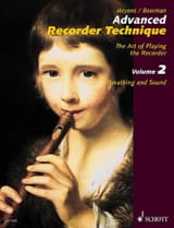 Heyens Gudrun / Bowman Peter - Advanced Recorder Technique - Volume 2 - Partition - di-arezzo.fr
