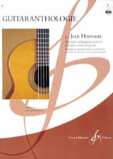 Jean Horreaux - Guitaranthologie - Volume 1 - Partition - di-arezzo.fr