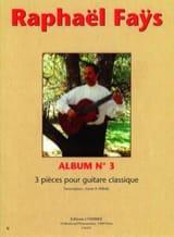 Raphael Faÿs - Album n° 3 - Partition - di-arezzo.fr