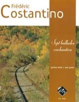 7 Ballades enchantées Frédéric Costantino Partition laflutedepan.com