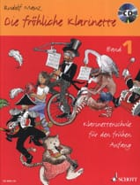 Rudolf Mauz - Die fröhliche Klarinette - Bd. 1 with CD - Sheet Music - di-arezzo.co.uk