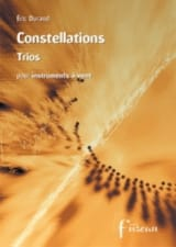 Constellations - Trios Eric Durand Partition Trios - laflutedepan.com