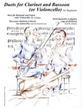 Duets for Clarinet and Bassoon for Beginners laflutedepan.com