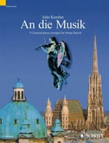 John Kember - An die Musik - String quartet - Sheet Music - di-arezzo.co.uk