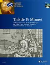 Thistle and Minuet David Johnson Partition Violon - laflutedepan.com