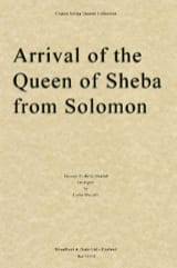 Arrival of the Queen of Sheba - String quartet HAENDEL laflutedepan