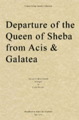Departure of the Queen of Sheba - String quartet HAENDEL laflutedepan
