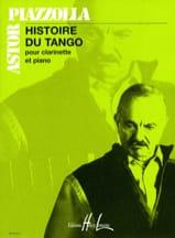 Astor Piazzolla - Historia del Tango - Clarinete de piano - Partitura - di-arezzo.es