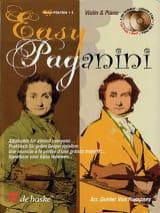 Easy Paganini Robert Van Rompaey Partition Violon - laflutedepan.com