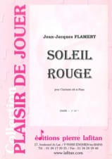 Soleil Rouge - Clarinette et piano Jean-Jacques Flament laflutedepan