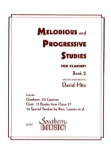 Melodious And Progressive Studies Book 2 David Hite laflutedepan.com