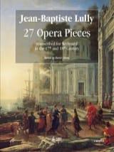 27 Brani d'opera Jean-Baptiste Lully Partition laflutedepan.com