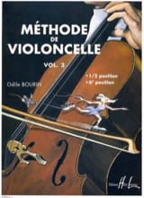 Odile Bourin - Cello Method Volume 3 - Sheet Music - di-arezzo.co.uk