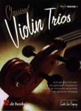 Classical Violin Trios Gunter van Rompaey Partition laflutedepan.com