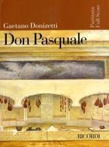 Gaetano Donizetti - Don Pasquale (nouvelle éd.) - Partition - di-arezzo.fr