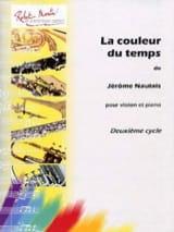 Jérôme Naulais - La couleur du temps - Partition - di-arezzo.fr