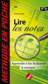 Lire les Notes Bruno Garlej Partition Solfèges - laflutedepan.com