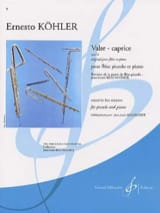 Ernesto Köhler - Valse-Caprice op. 14 - Sheet Music - di-arezzo.co.uk