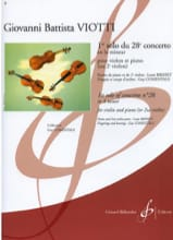 Giovanni Battista Viotti - 1st Solo of the Concerto n ° 28 - Sheet Music - di-arezzo.co.uk