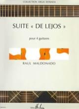 Raul Maldonado - Suite de Lejos - Partition - di-arezzo.fr