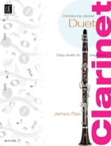 Introducing Clarinet Duets - James Rae - Partition - laflutedepan.com