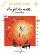 Millerioux Chr. / Robert Fr. / Voirpy M.-C. et A. - Au Fil des Notes - Volume 2 - Elève - Partition - di-arezzo.fr
