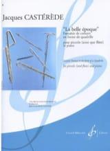 Jacques Castérède - La Belle Epoque - Partition - di-arezzo.fr